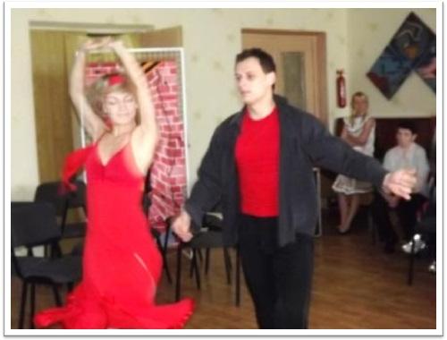 Танцювальний номер «Разлука» у виконанні керівника хореографічного гуртка Курганського І.С.